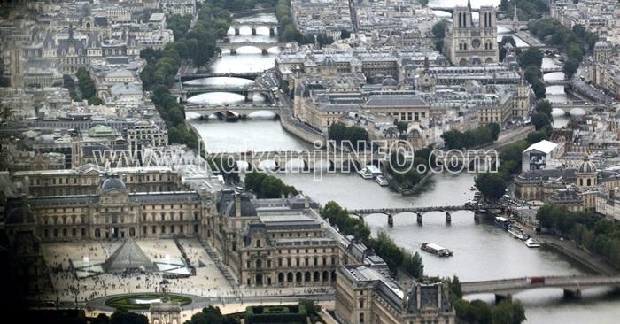 rijeka sena pariz