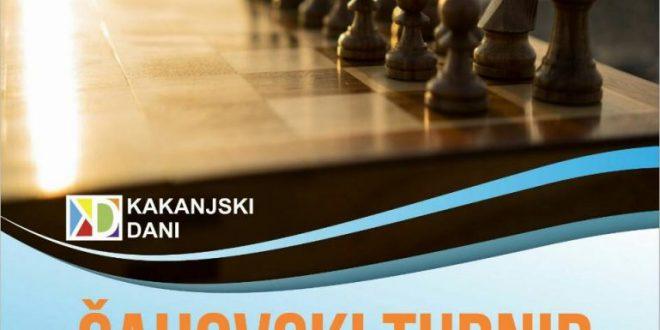 Sada već tradicionalno – Šahovski turnir pod otvorenim nebom u sklopu KD2018