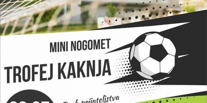"NAJAVLJUJEMO KD2018 – PRIJAVI EKIPU: Mininogometni turnir ""Trofej Kaknja"""