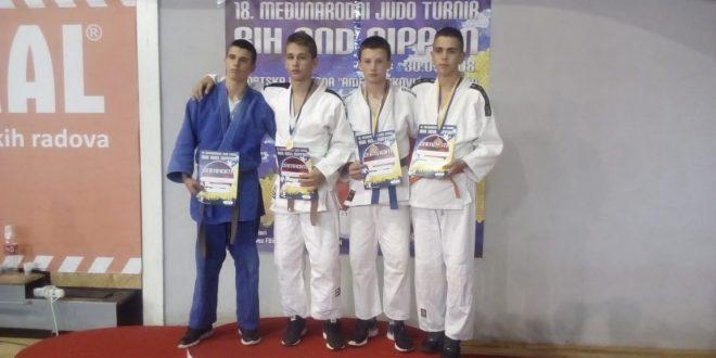 """Judo klub Kakanj ostvario zapažene rezultate na """"BH AND NIPPON – SARAJEVO OPEN 2018"""""""