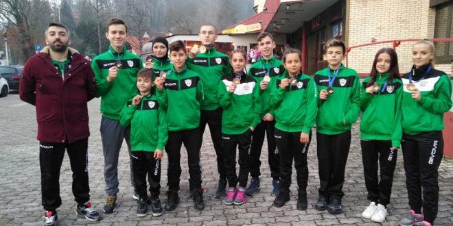 Tim TKD Rudar Kakanj iz Zagrebu donio deset medalja